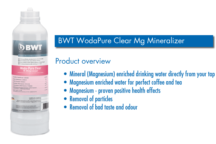 BWT WodaPure Clear Magnesium Mineralizer